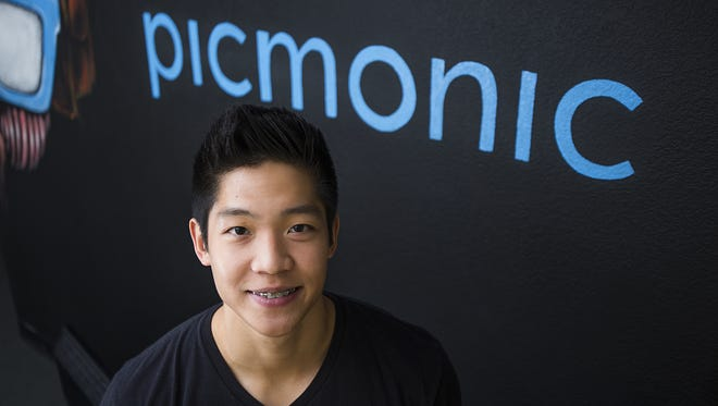 Tempe-based picmonic received venture-capital funding in the fourth quarter. The company's founder, Adeel Yang, is pictured.