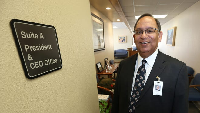 Jacob Cintron is the new president and CEO of University Medical Center of El Paso.