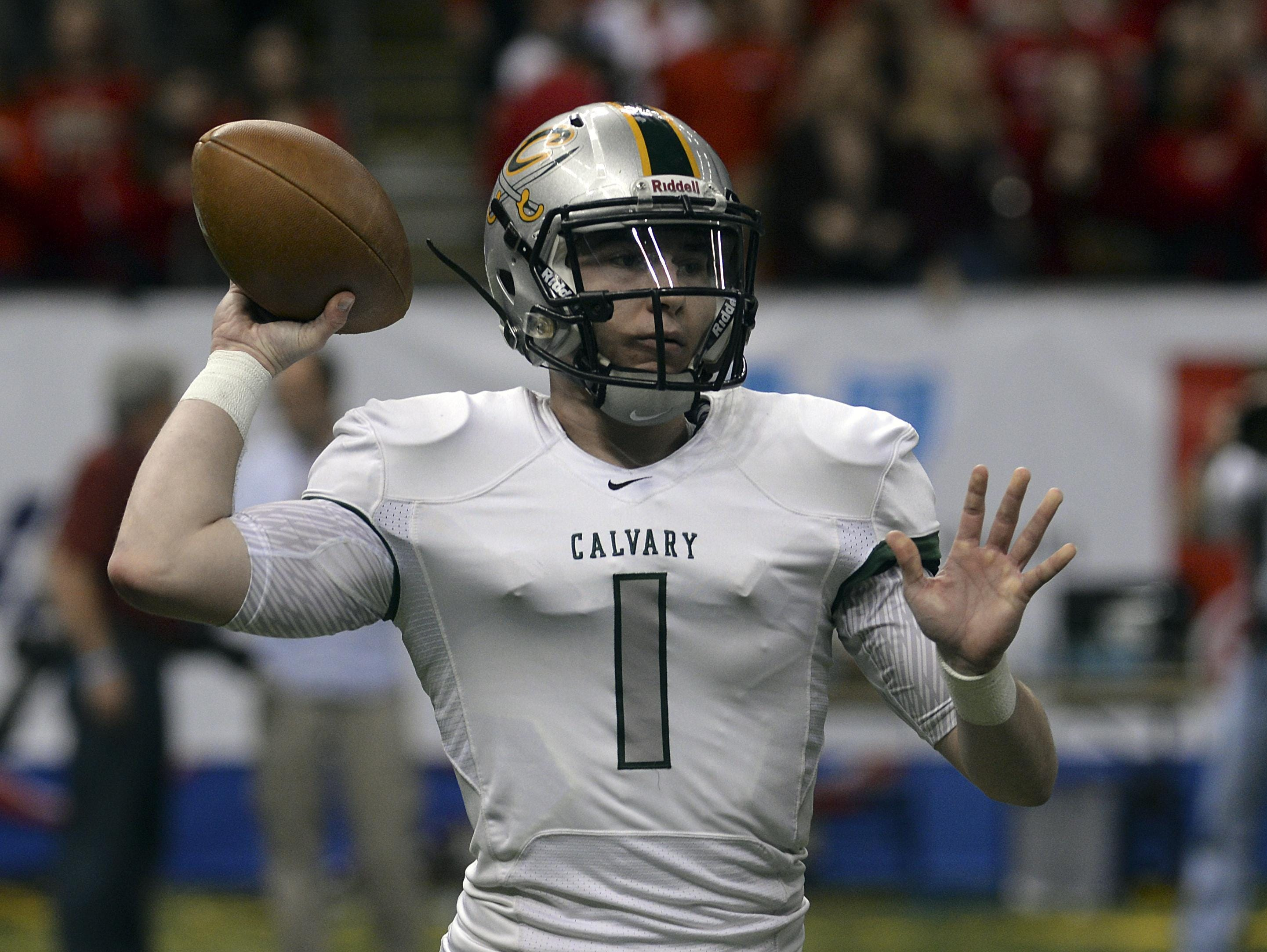 Quarterback Shea Patterson, an Ole Miss commit, will not play at Calvary Baptist Academy for his senior season.