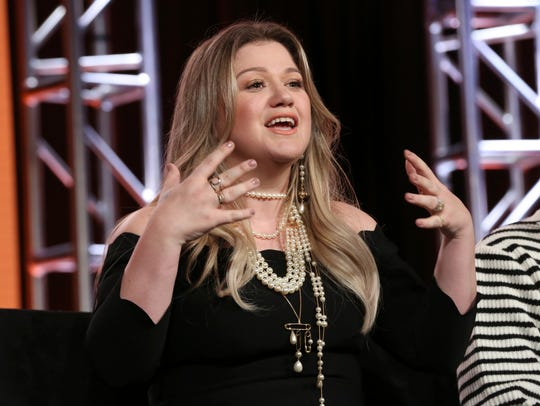 "Kelly Clarkson is also a judge on NBC's ""The Voice."""
