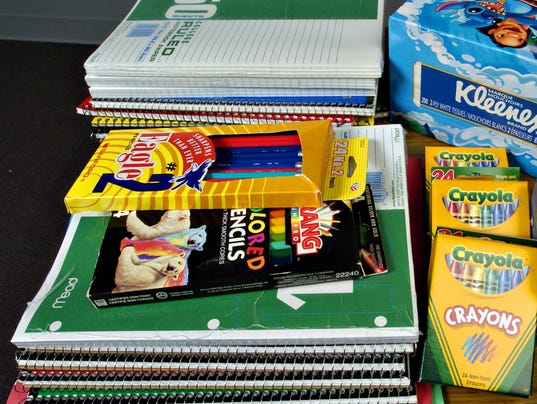 How to help provide school supplies for kids