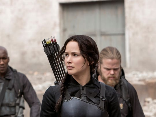 """""""The Hunger Games: Mockingjay -- Part 1"""" continues the story of Katiness Everdeen."""
