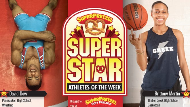 Meet our SUPERPRETZEL Super Star Athletes of the Week!