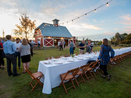 The 7th annual Food Invasion benefit dinner is held