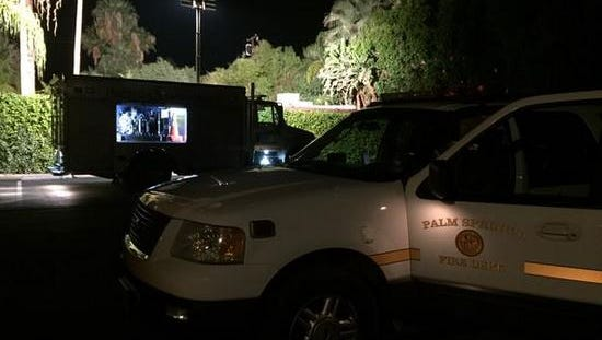 Palm Springs Fire Department responded to an explosion at the Vista Grande Resort just after 5 p.m.