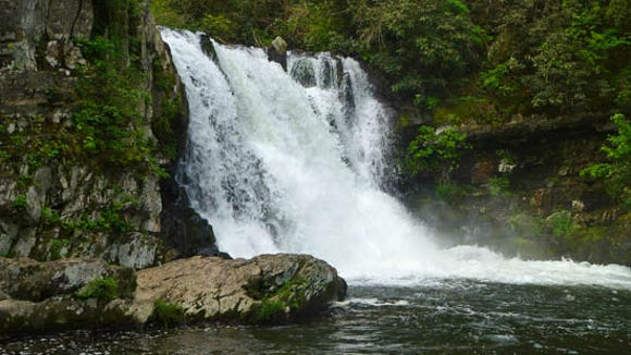Abrams Falls in Great Smoky Mountains National Park was the site of a drowning April 28.