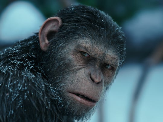 Caesar (Andy Serkis) saw his final chapter in 'War