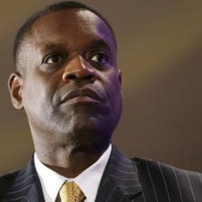 """Detroit emergency manager Kevyn Orr says """"Detroit continues to make steady progress in returning to firm financial footing and becoming an attractive place to invest once again."""""""