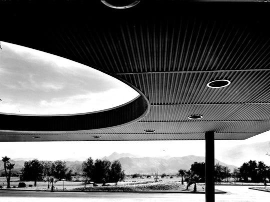 Palm Springs City Hall c. 1957.