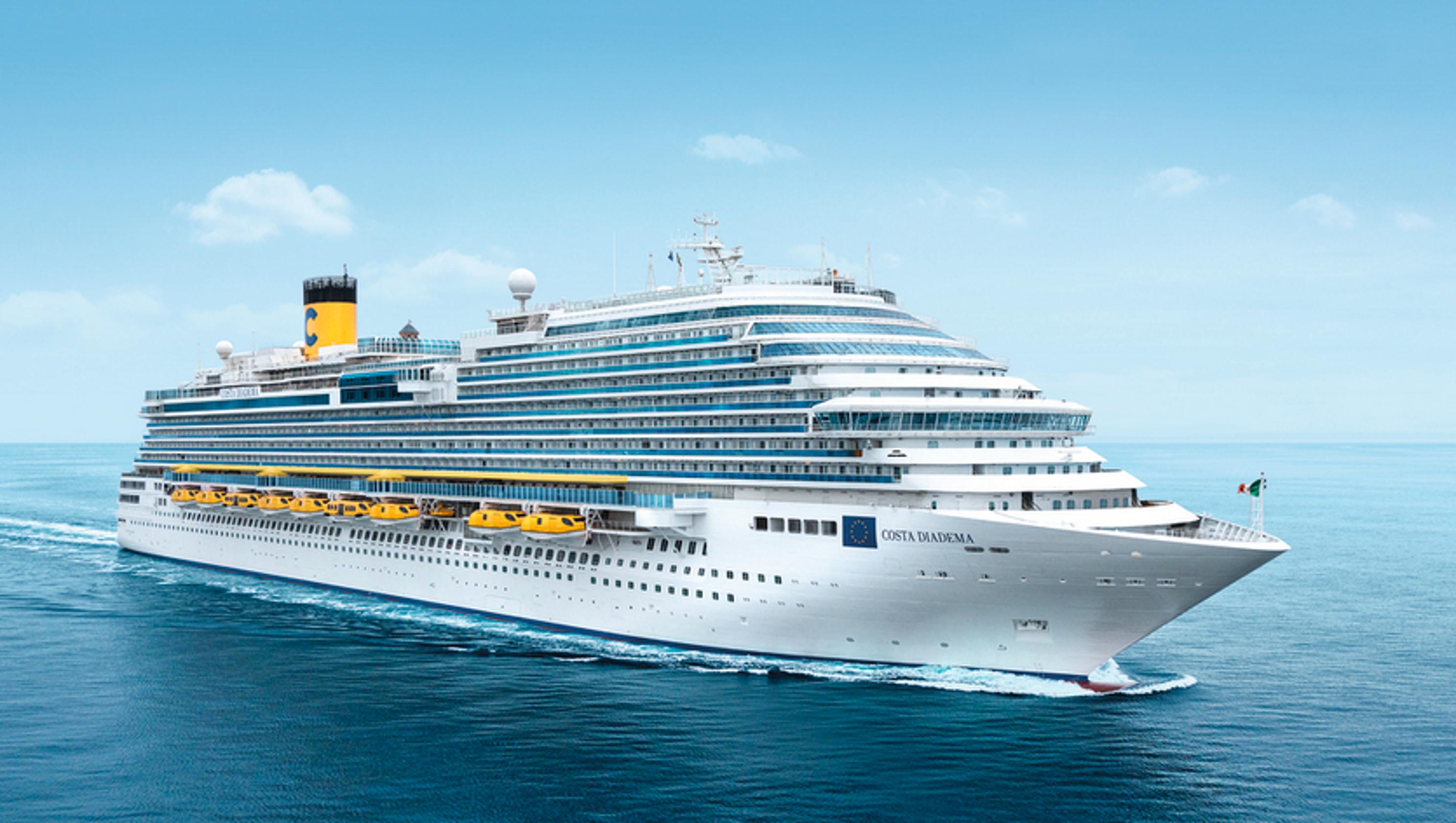 Cruise Ship Tours Costa Cruisesu0026#39; Costa Diadema