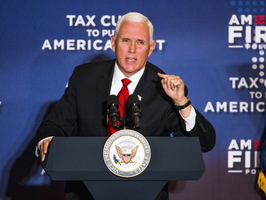 Mike Pence speaks in Arizona