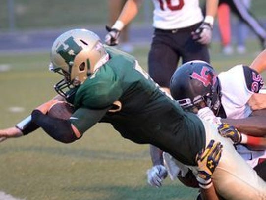 Howell's Ryan Brennan rushed for 311 yards in the Highlanders'