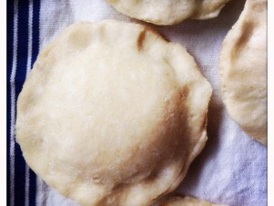 Cauliflower hand pies can be enjoyed as made or frozen