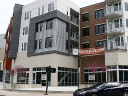The Gantry mixed-use development in Northside was Mihaus'