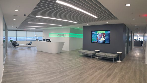CBRE hosted a Tech Demo Day for employees, featuring