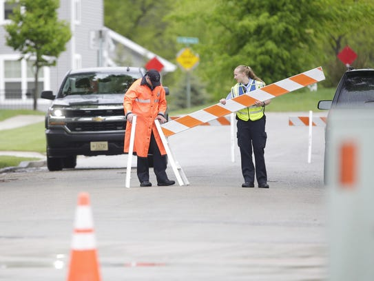 Officers shut down roads near Bread of Life Churches,