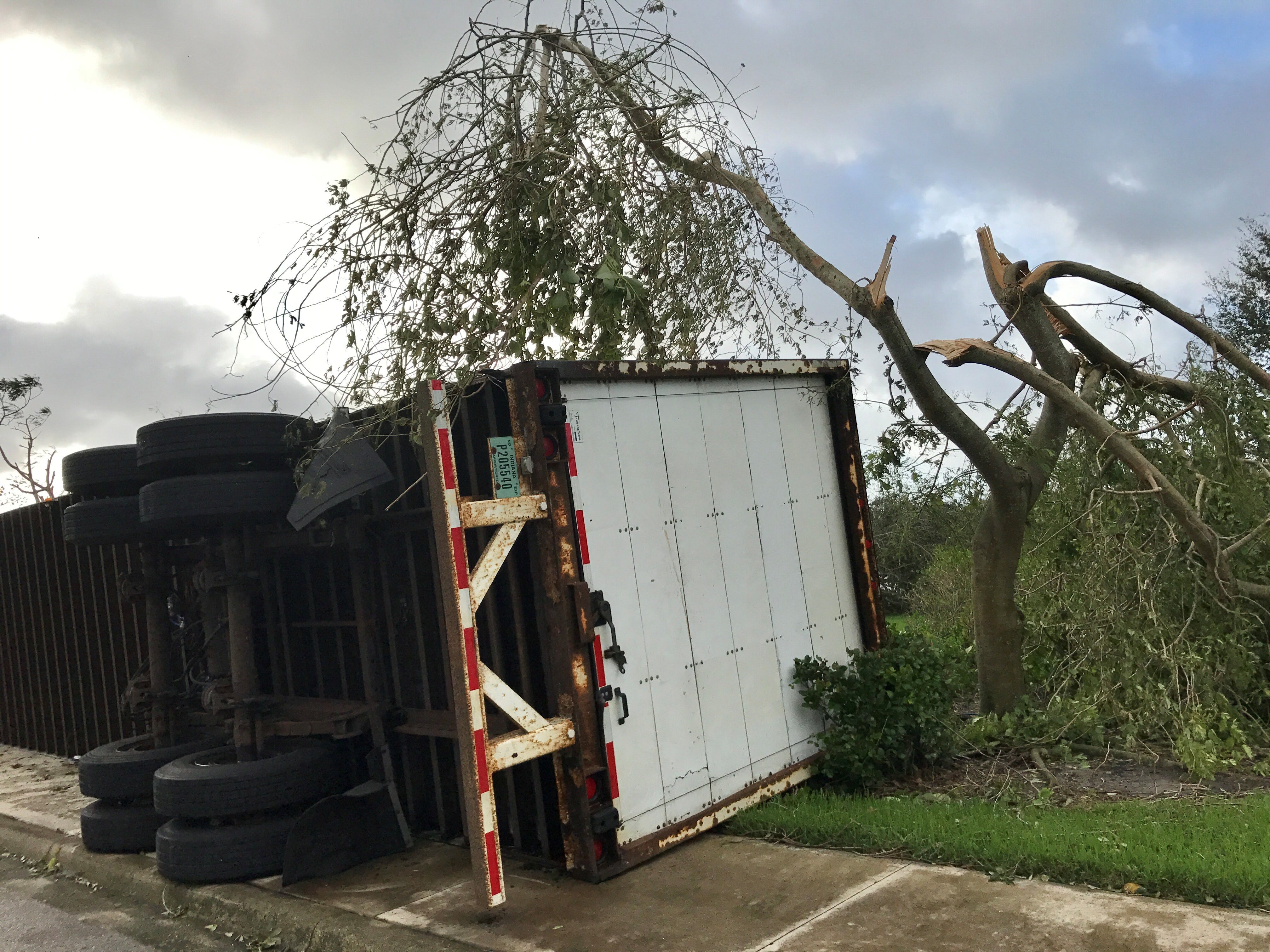 Hurricane Irma: Aftermath of storm in Naples, East Naples, Immokalee