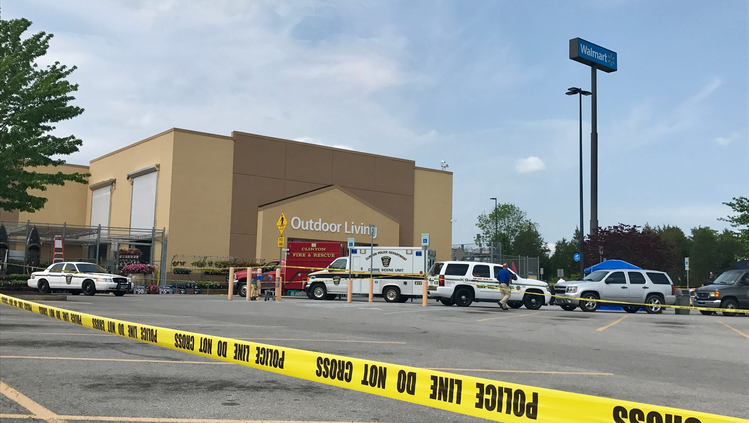 suspect in clinton walmart shooting released after questioning