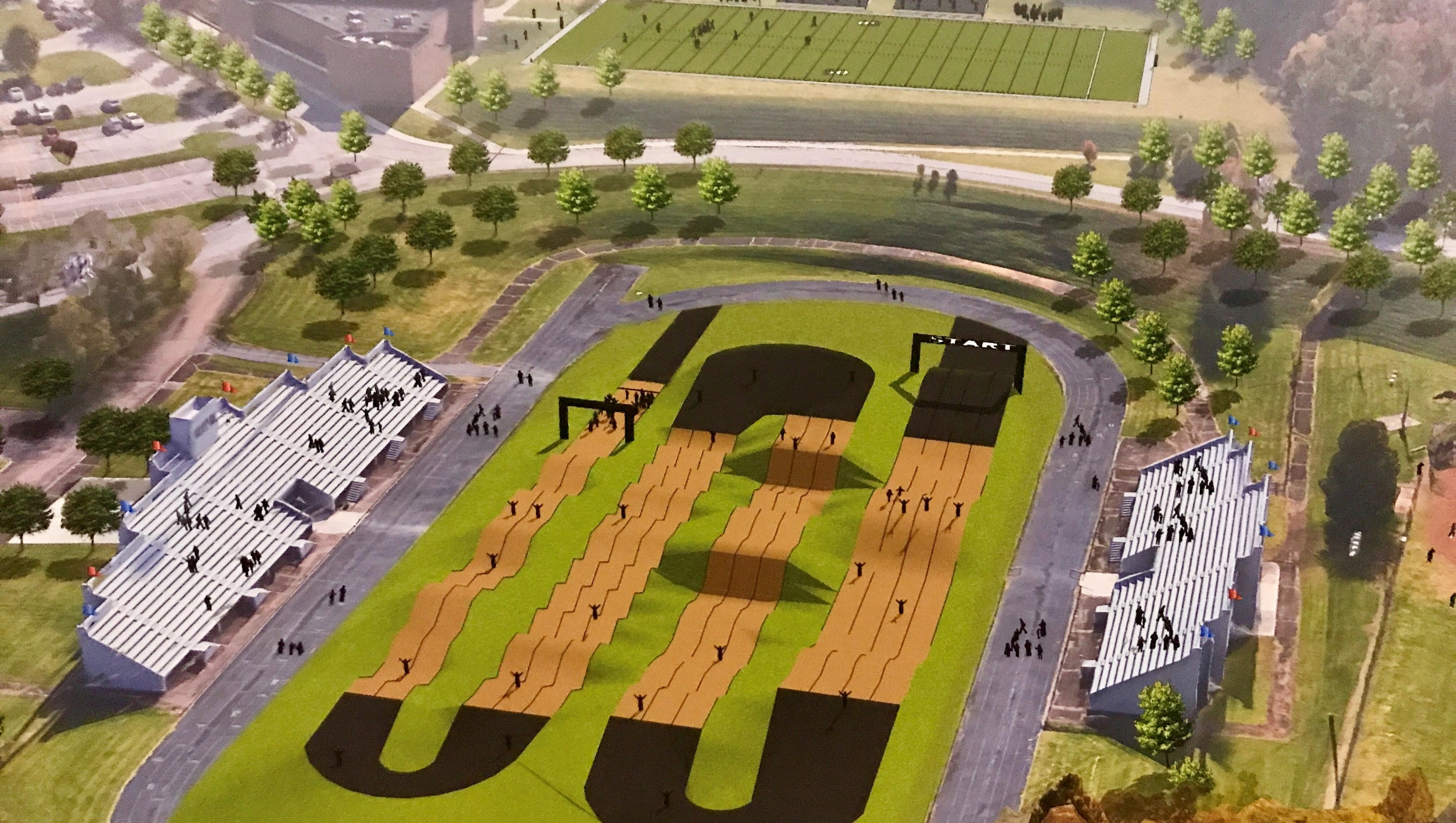 County Lays Out Plans For Proposed Bmx Park