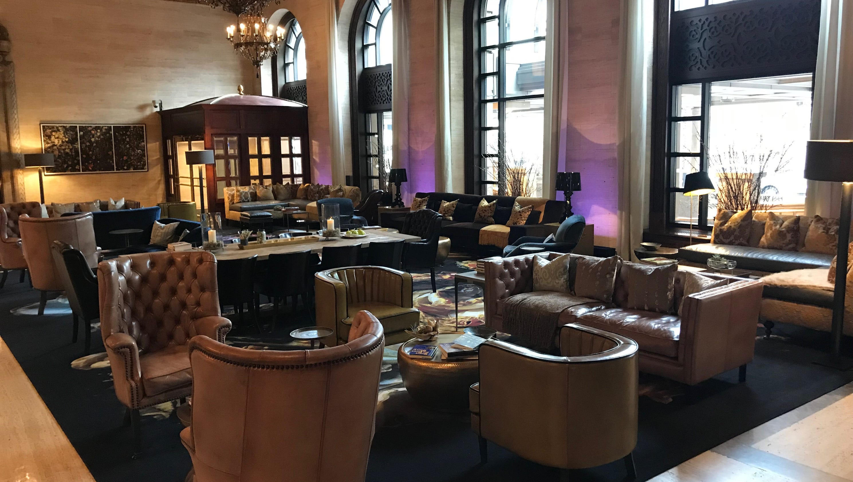 New Look For Hotel Du Pont Lobby Bar