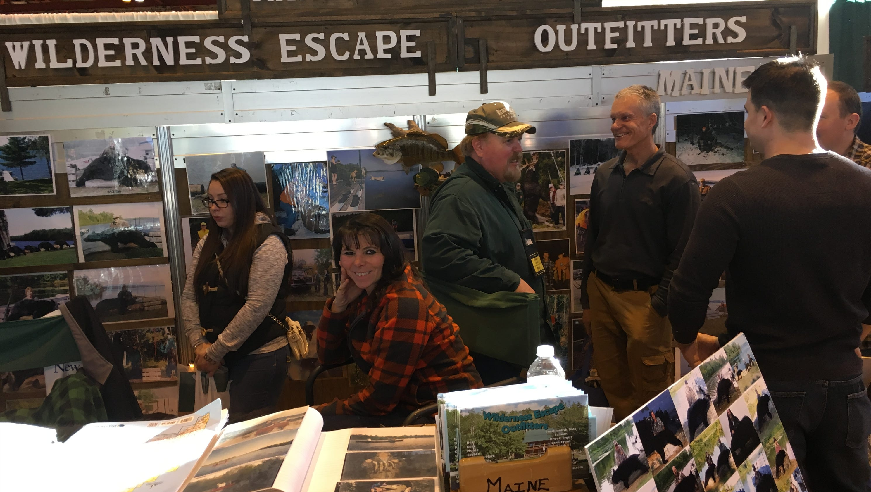 Hunting and fishing expo celebrates 40th year in rockland for Hunting and fishing show