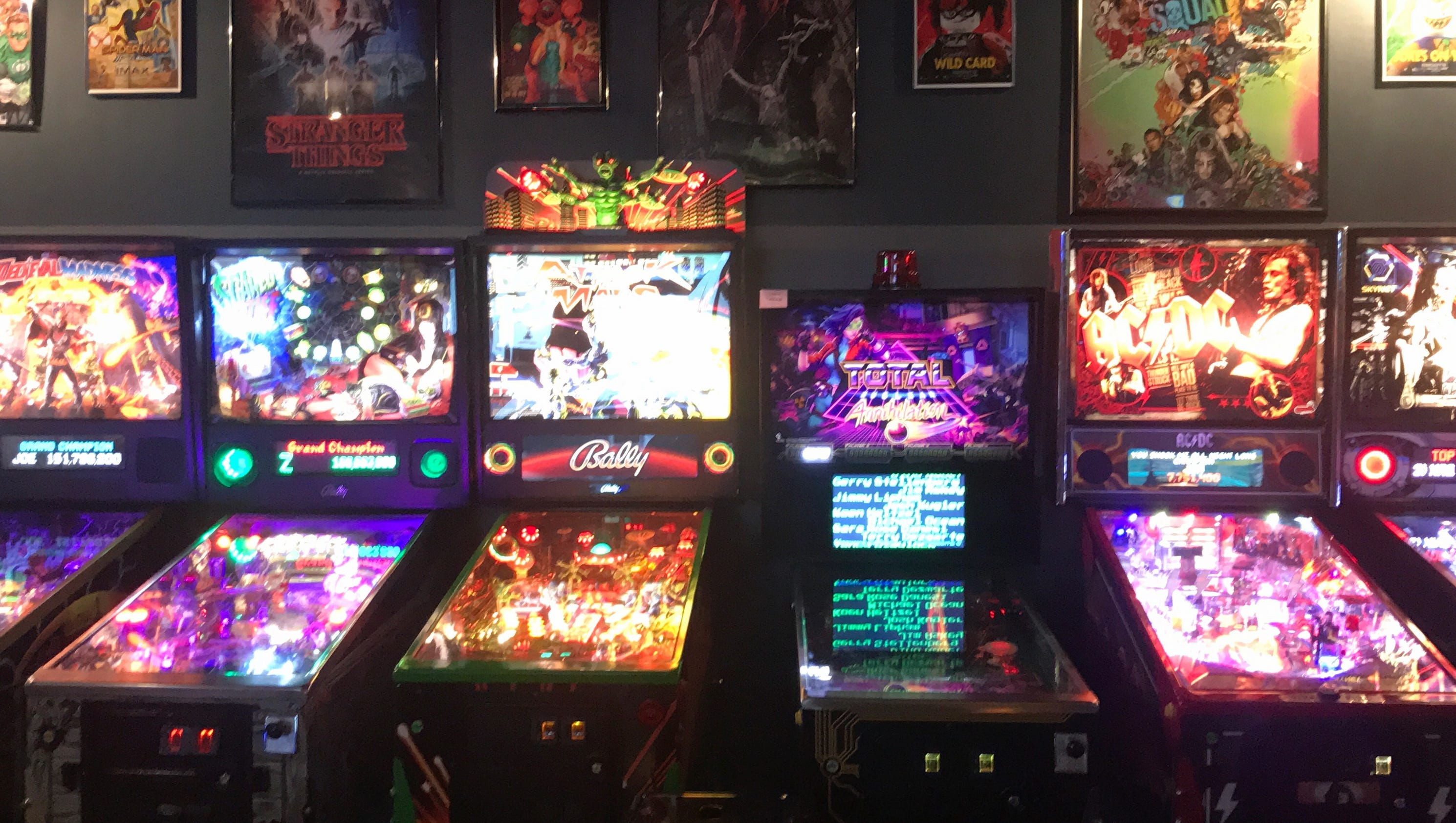 Token game tavern hits a high score with arcade games for Craft cocktails near me