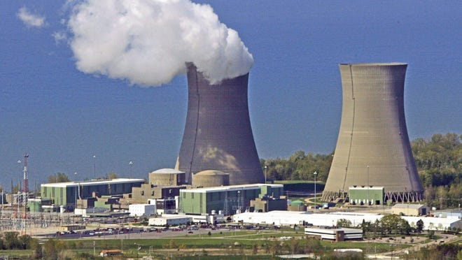 The Perry Nuclear Power Plant along Lake Erie in North Perry was one of two Ohio nuclear plants bailed out by passage of House Bill 6.