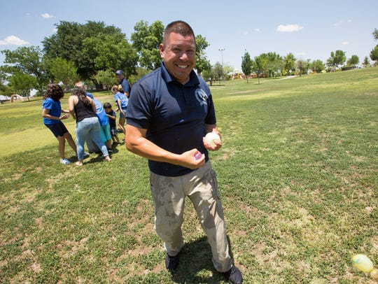 Chris Carrillo, school resource officer from Vista