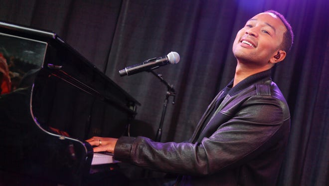 John Legend performs at the AXE White Label Collective Party during the SXSW Music Festival on March 21in Austin, Texas.