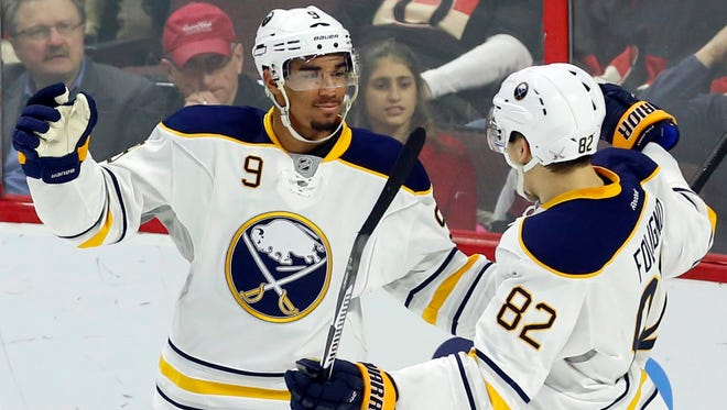 Evander Kane has baggage but he can put the puck in the net and is playing his best hockey with team-leading 21 goals. Does Buffalo really want to trade him if it's serious about winning?