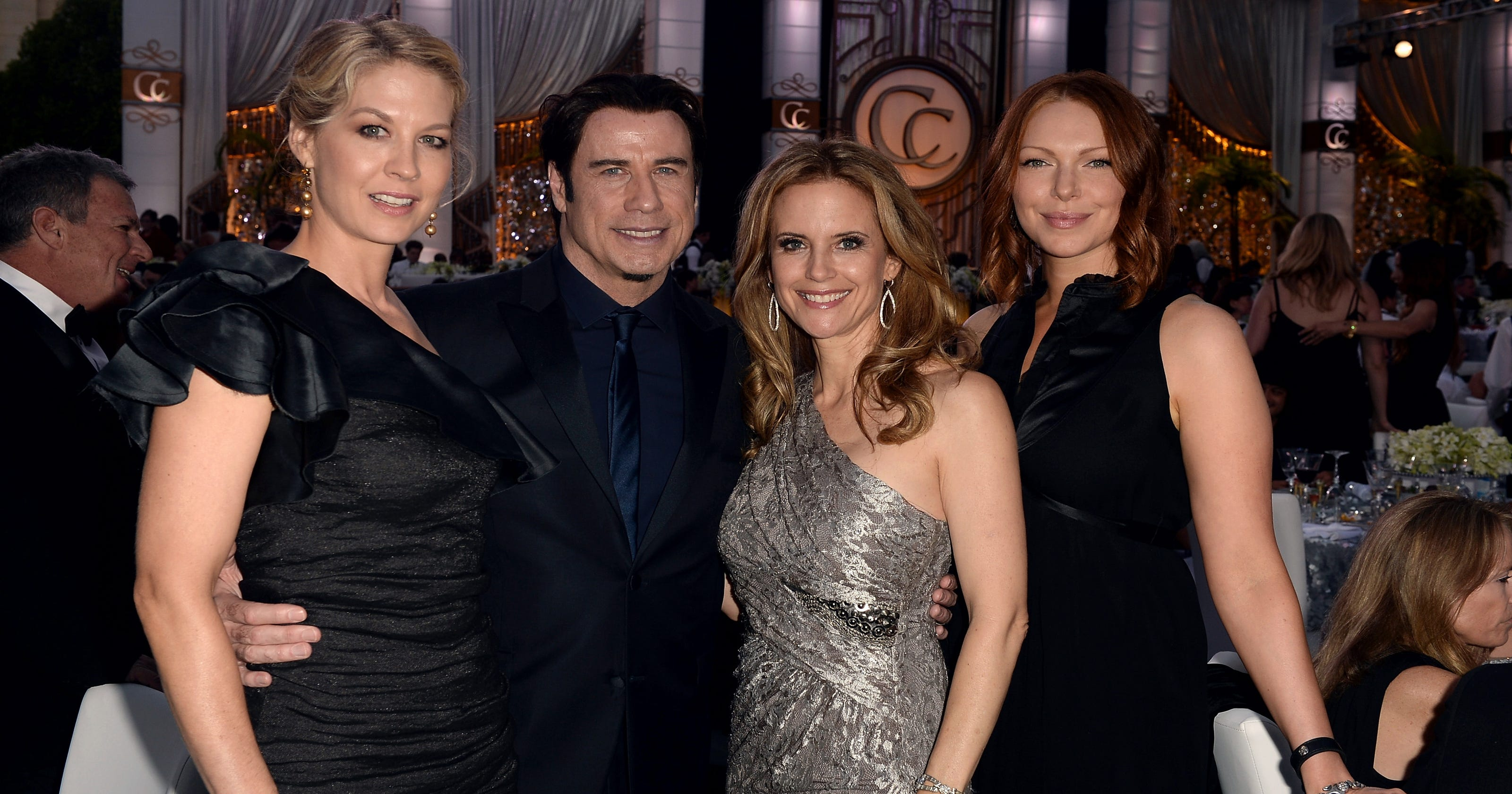 John Travolta Friends Party At Scientology Gala