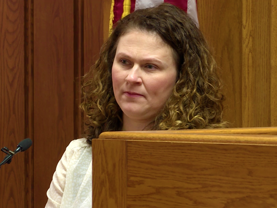 Andrea Wadinski testifies at Kristopher Torgerson's former girlfriend.