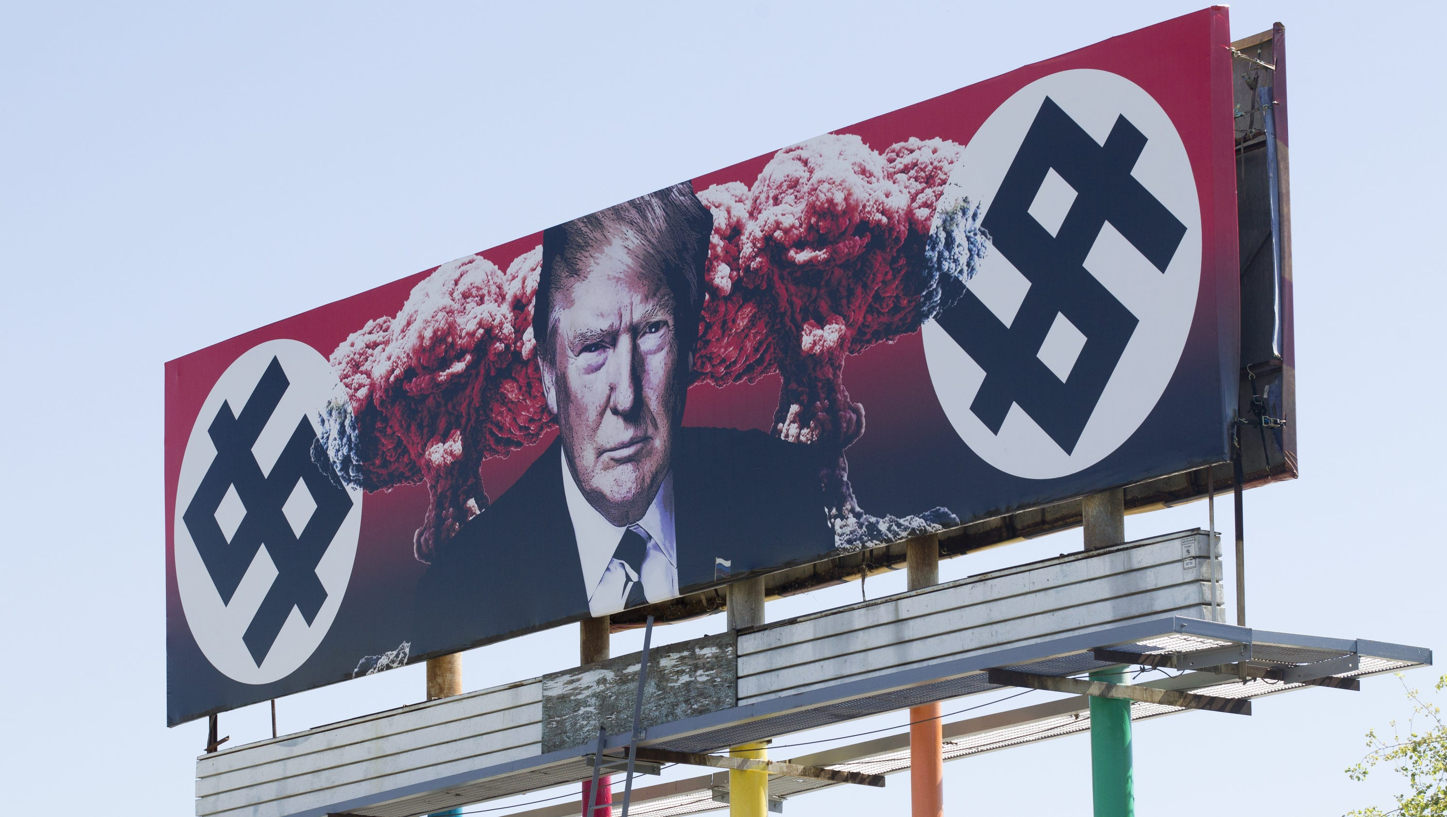 Fact check did taxpayers fund anti trump billboard in phoenix stopboris Images