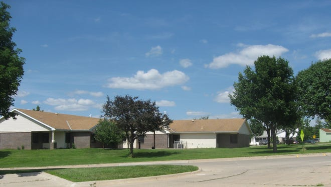 A cottage where resident at the Glenwood State Resource Center reside. The Department of Human Services announced in January that six employees were fired and six more resigned from the southwest Iowa center.