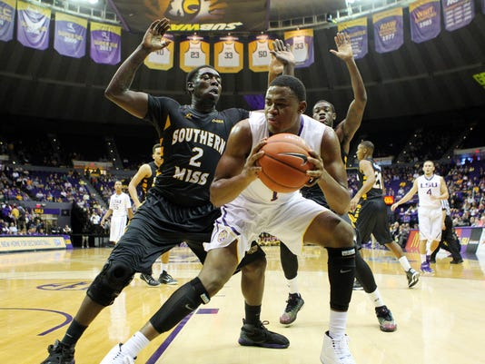 NCAA Basketball: Southern Mississippi at Louisiana State