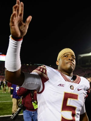 Jameis Winston and the Seminoles have three regular season games remaining, the last of which is Nov. 29 vs. Florida.