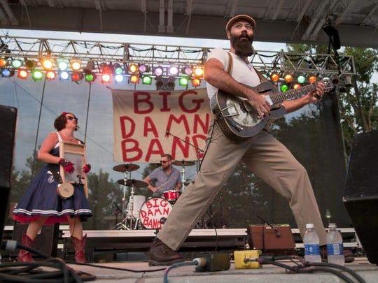 The Rev. Peyton's Big Damn Band
