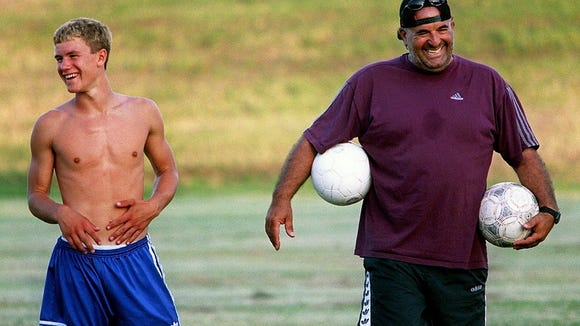 Daniel Ohayon (right) arrived in Sioux Falls from California in 1994 and made an immediate impact on the soccer scene.