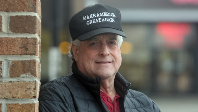 Ken Jay, 68, of West Nyack, is a Donald Trump supporter. He was photographed in New City April 8, 2016.