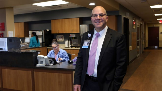 Phelps Hospital Northwell Health President and CEO Daniel Blum at Phelps Memorial Hospital Center in Sleepy Hollow.
