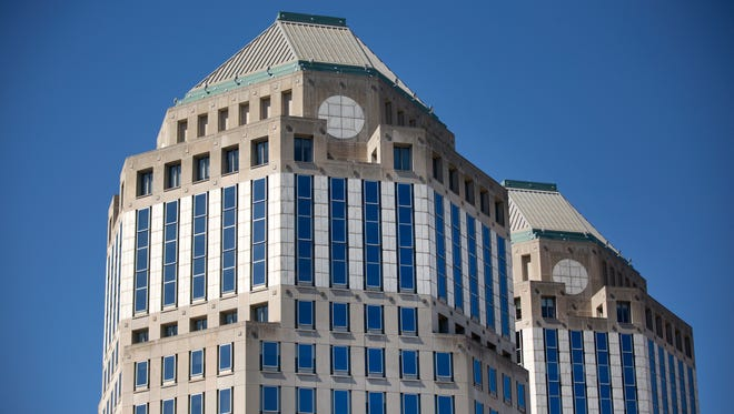 The headquarters of Procter and Gamble in downtown Cincinnati.