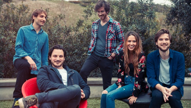 Los Angeles-based band Mt. Joy signed with Nashville record label Dualtone in 2017, and topped the radio charts in 2018.