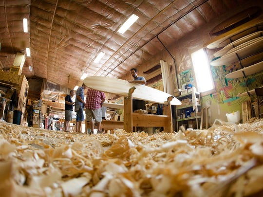 Grain Surfboards will host a board building workshop