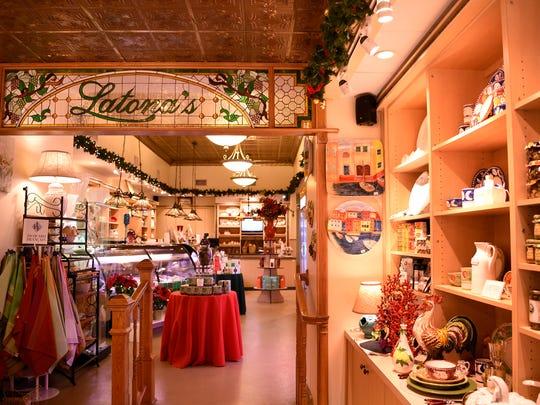 Latona's, the homemade and handmade shop in Garfield.