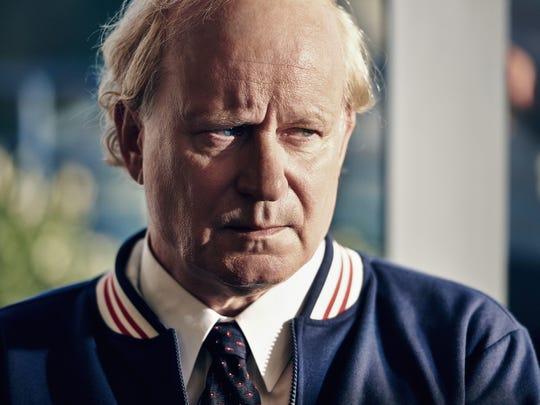 Lennart Bergelin (Stellan Skarsgård) is Bjorn Borg's