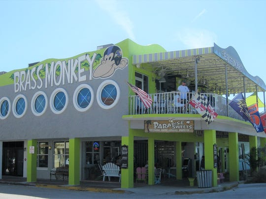 The Brass Monkey serves some of the best jumbo lump crab cakes in Florida.