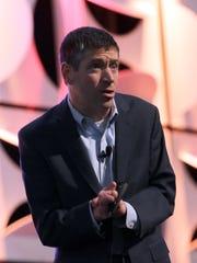 Inspirational speaker John O'Leary, tells attendees