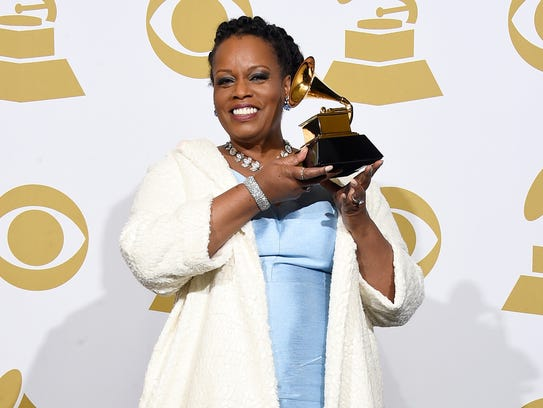 Singer Dianne Reeves, winner of Best Jazz Vocal Album
