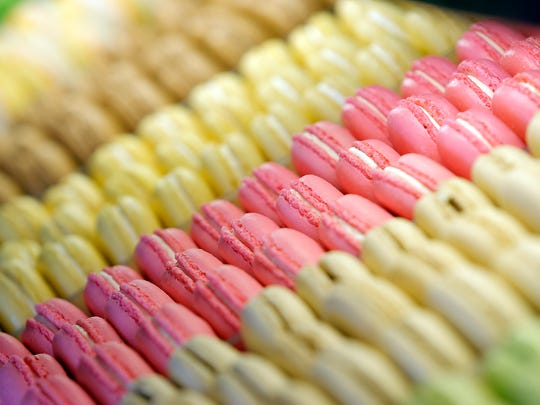 Belle Sucre Bakery has a wide variety of tasty, colorful macarons.