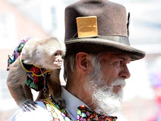 Families pack downtown York for the 40th Annual Olde